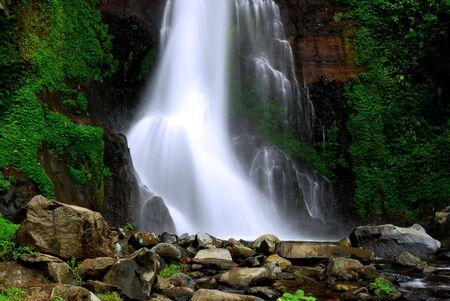 Gitgit Waterfall in Bali, indonesia photo