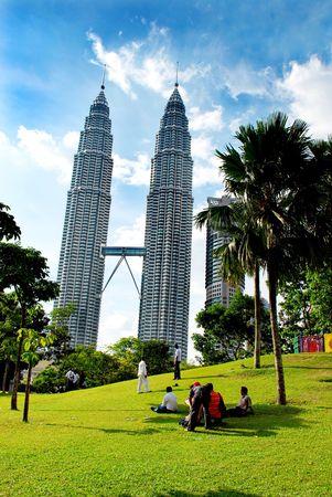 klcc: Petronas twin towers