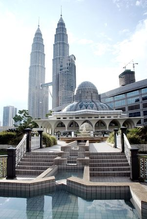 petronas: Mosque at the Petronas twin towers