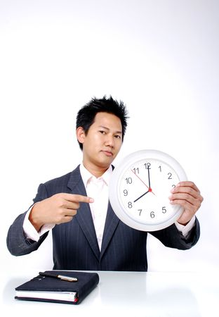 Working hour start at 8 0'clock Stock Photo - 785306