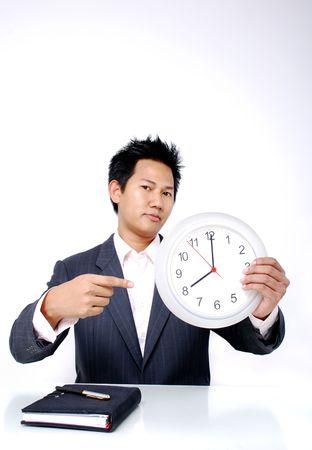 Working hour start at 8 0'clock Stock Photo - 785306