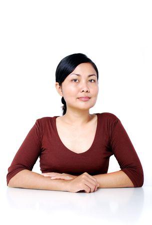 Asian women portrait photo