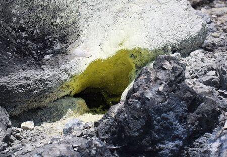 sulfur: Volcanic sulfur