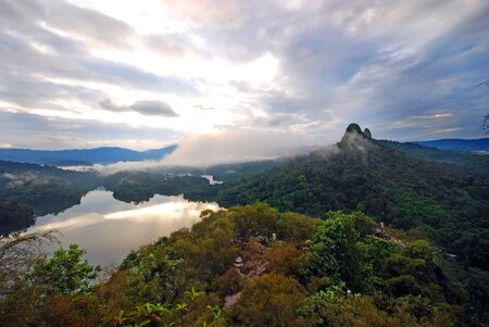 bukit: Mountain in Klang gate Malaysia