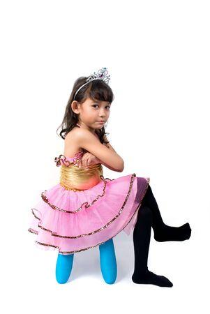 ni�os actuando: Angry peque�a princesa