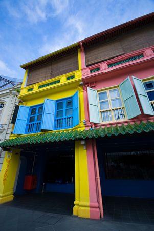 Heritage building in singapore