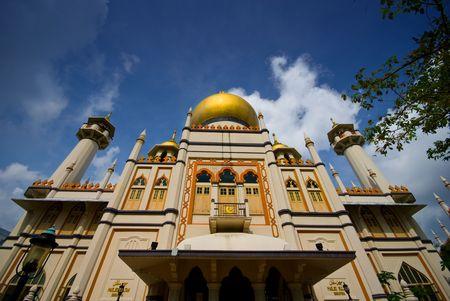 sultan: Mosque - Masjid Sultan in Singapore
