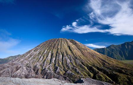 inactive: Inactive volcano Stock Photo