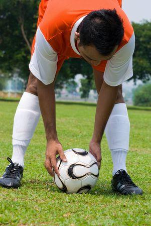 winning pitch: Get ready - soccer