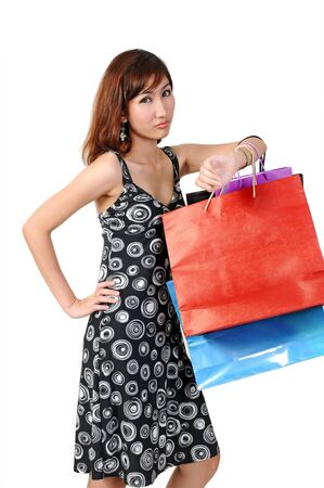 Shopping women photo