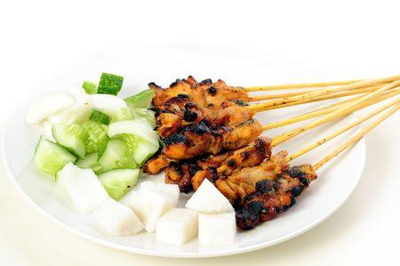 アジアの食 ‐ サテーセット