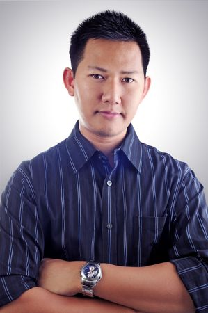 Attractive asian male portrait Stock Photo - 3790712