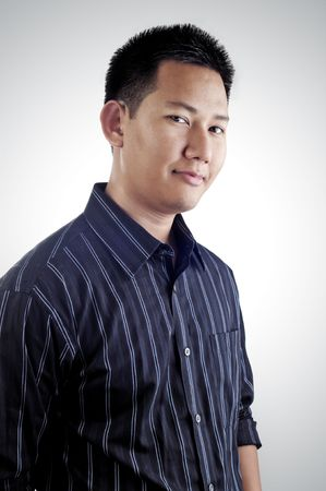 Asian male portrait Stock Photo - 3790710