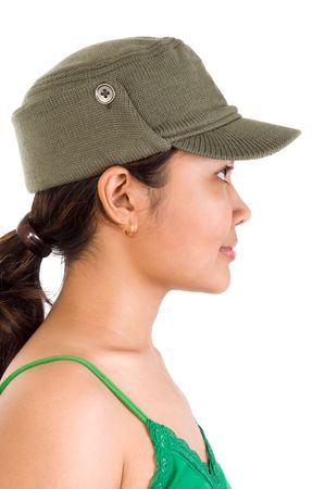 Side view of women portrait Stock Photo - 3996345