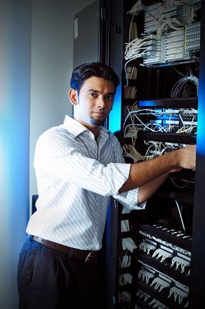 System administrator  Stock Photo