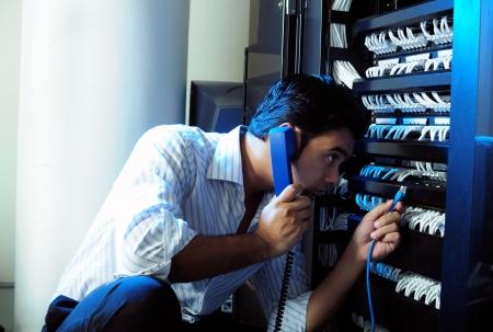 solucion de problemas: El administrador del sistema de TI