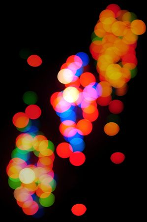 Abstract light effect background  photo