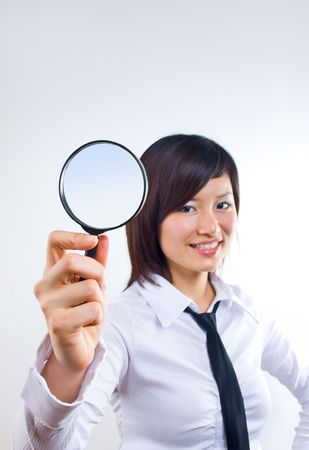 Searching Stock Photo