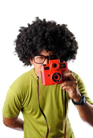 Taking picture Stock Photo - 6836801