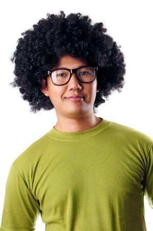 Afro male portrait photo