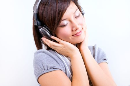 Enjoy listening music photo