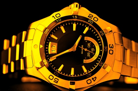 Gold watch Stock Photo - 8519919