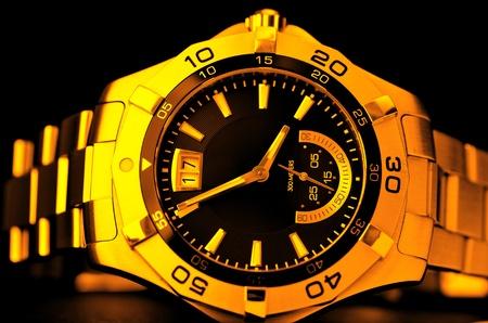 Gold watch Stock Photo - 8519919