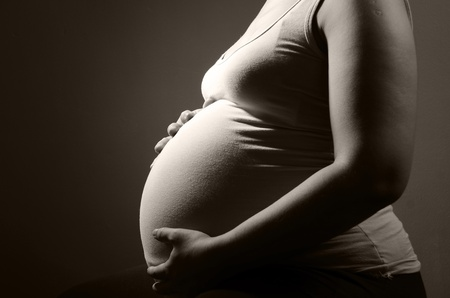 Pregnant woman Stock Photo - 10082979