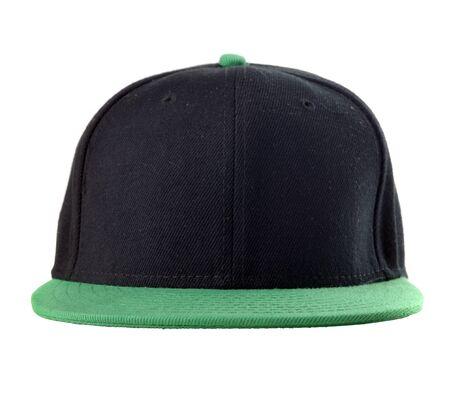 gorra: Cap sobre fondo blanco Foto de archivo