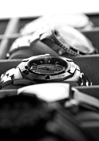 deepsea: Kuala Lumpur, Malaysia - June, 8 2012:  Still life picture of luxury watch inside the watch box Editorial