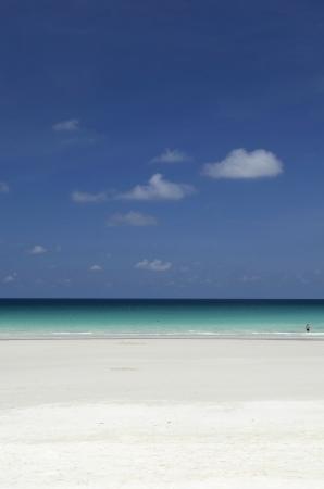 redang:  Portrait view of beach scenery taken in Redang Island Malaysia