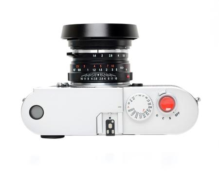 rangefinder: Rangefinder camera - top view