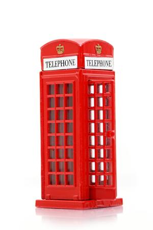 iconic: London iconic public telephone miniature