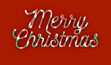 masthead: Merry Christmas wording over red background