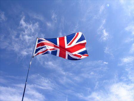 Union Jack UK national flag. photo