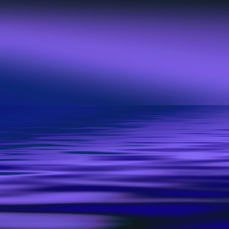 purples: Simulated seascape in purples and blues