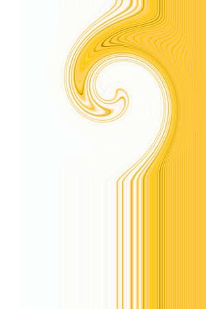 Yellow line twirl pattern