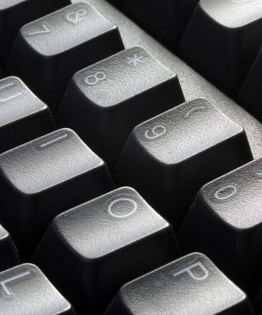 close up of keyboard keys