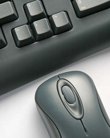 Keyboard and mouse close-up Stock Photo - 265434