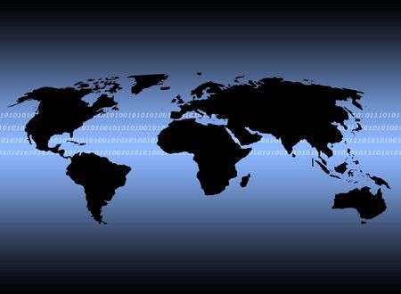 Outline of world map illustrating digital communications stock photo outline of world map illustrating digital communications stock photo picture and royalty free image image 760454 gumiabroncs Image collections