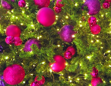 close up of colorful christmas tree decorations stock photo 2094285 - Colorful Christmas Decorations