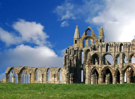 Whitby Abbey ruins photo