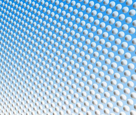 fills: Blue spot pattern for backgrounds and fills Stock Photo