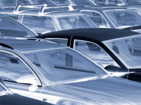 Negative effect of cars parked in parking lot