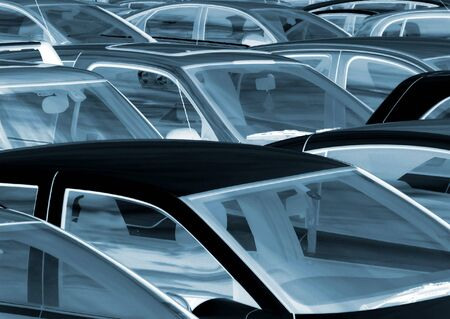Negative effect applied to cars parked in parking lot