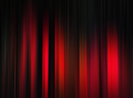 streaks of light: Red stripe pattern on black for backgrounds Stock Photo