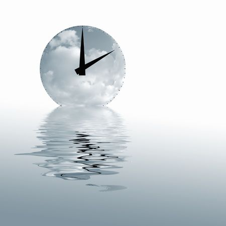 Blue toned image of time concept for backgrounds Stock Photo - 4682698