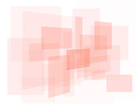 Patrón abstracto de Rosa superposición rectángulos sobre blanco  Foto de archivo - 7606799