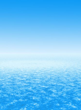 Simulated sky and water background or backdrop Stock Photo - 9737853