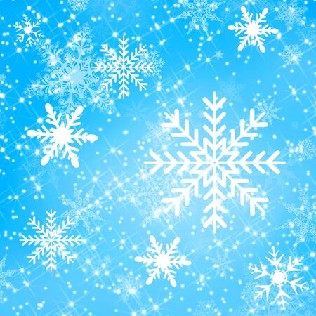 Christmas snow flake design for backgrounds and fills photo